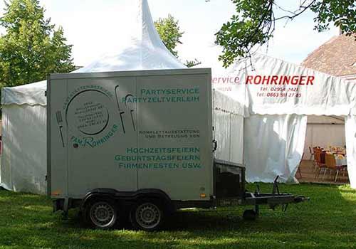 Kühlwagen - Party-Service Rohringer
